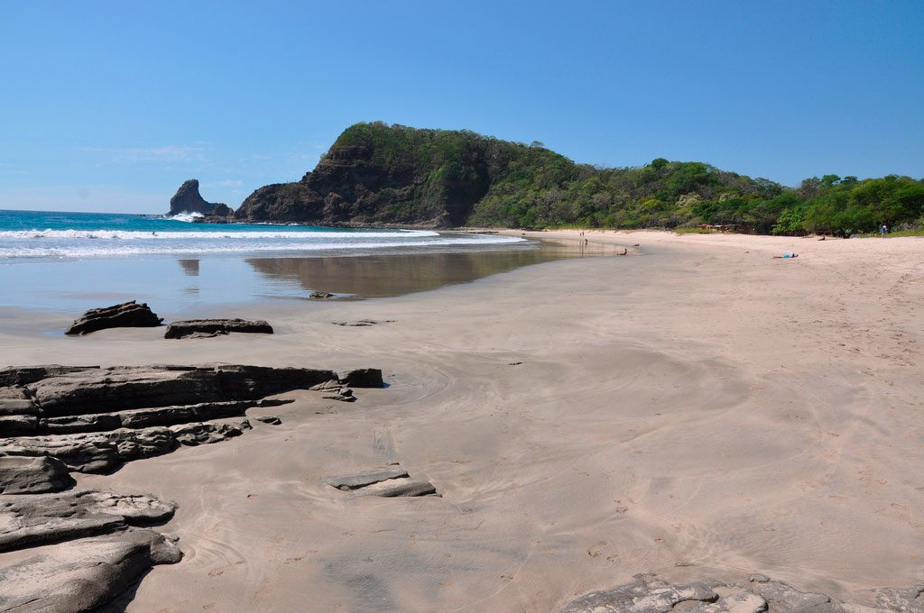 Playa Casares is one of the best and remotest Nicaragua beaches