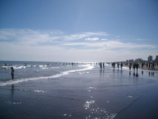 Bahia Blanca beach