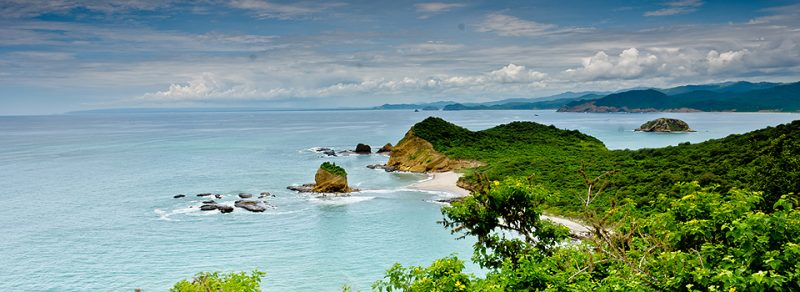 fraile beach in Ecuador