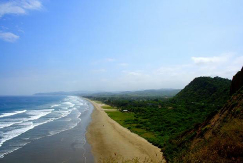 one of the best beaches in Ecuador, Playa Montanita