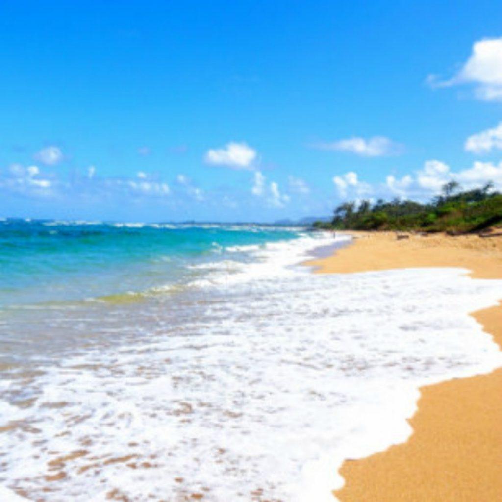 One of the top kauai beaches: Lydgate Beach