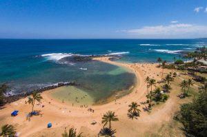 one of the best beaches in Kauai, Poipu Beach