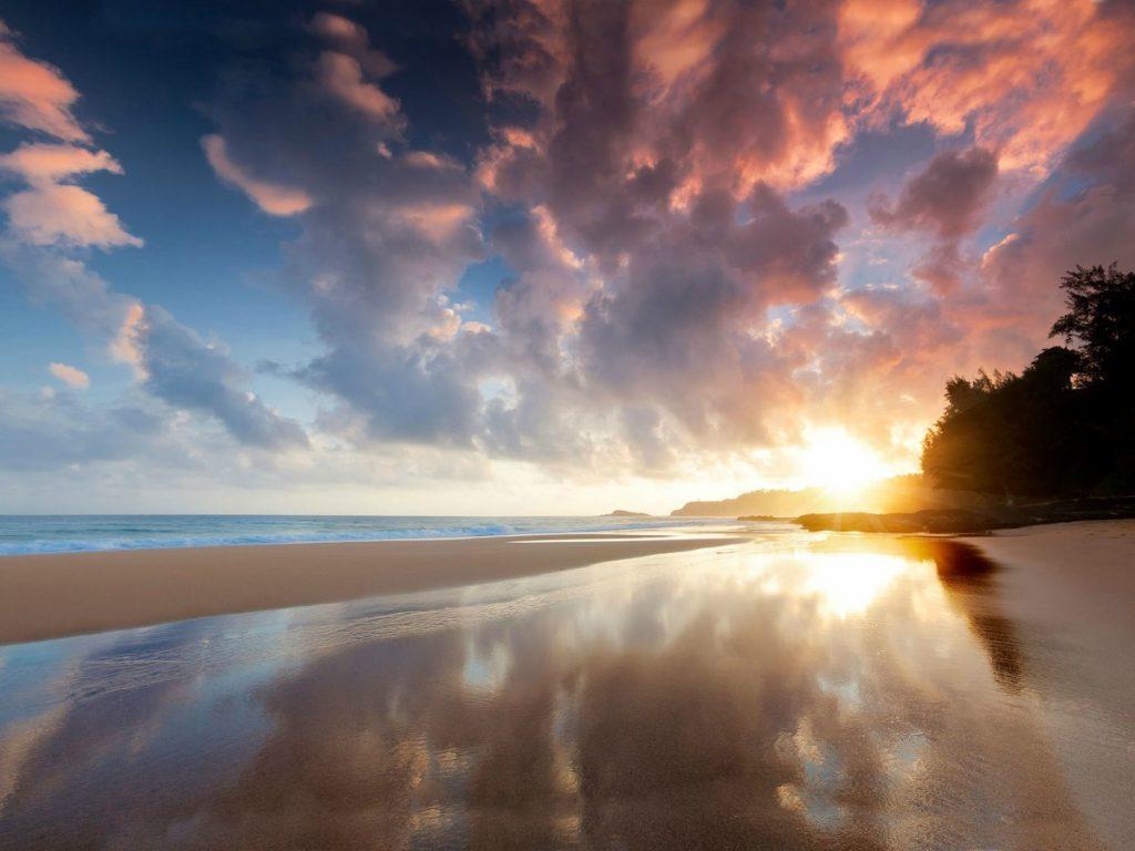 Salt Pond Beach Park Sunset