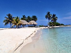One of the best beaches in Belize, Goff'f Caye