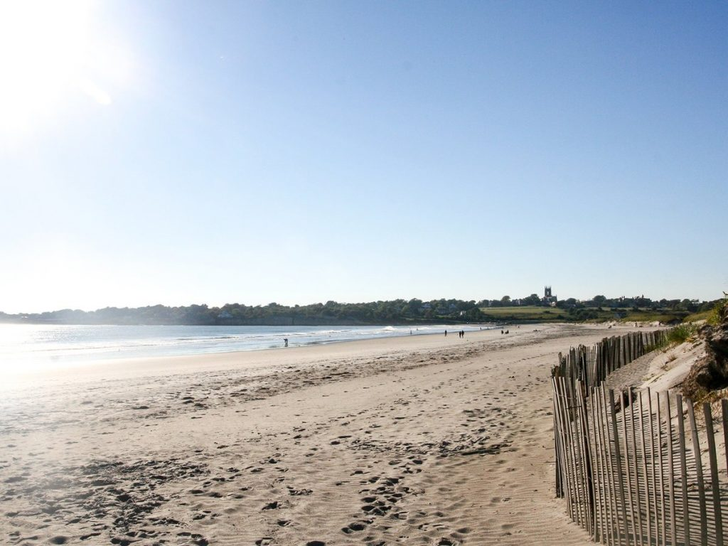 Sachets Beach in Rhode Island