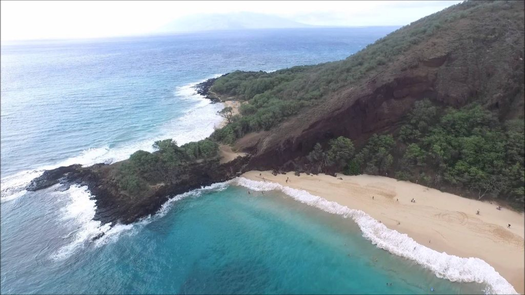 Makena Beach in Hawaii
