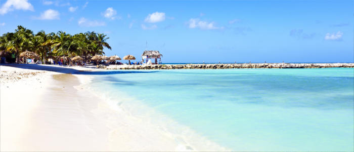 Hadicurari beach in Aruba