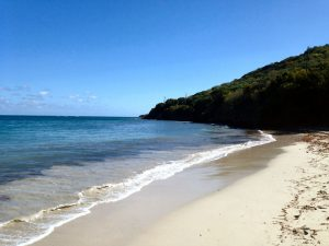 One of the best beaches in the U.S. Virgin Islands, Smugglers cove