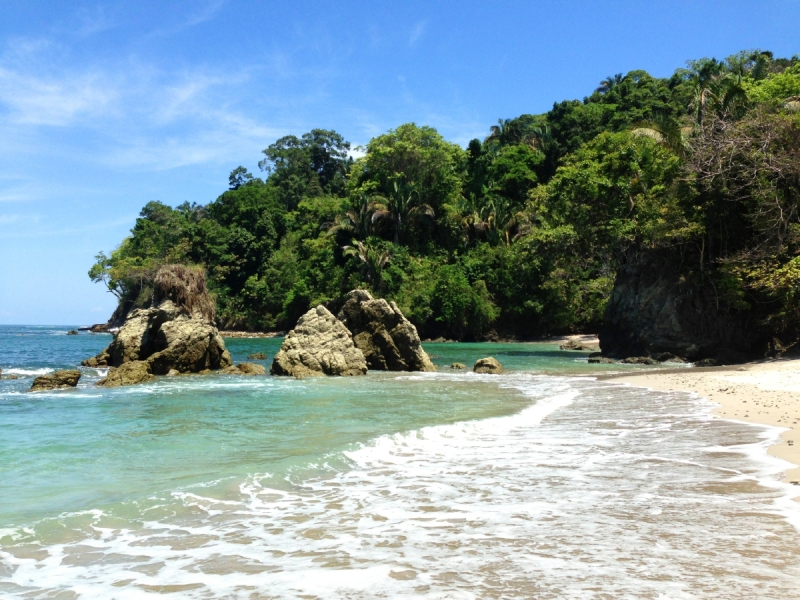 Playa Manuel Antonio is a textbook example of the best beaches in Costa Rica