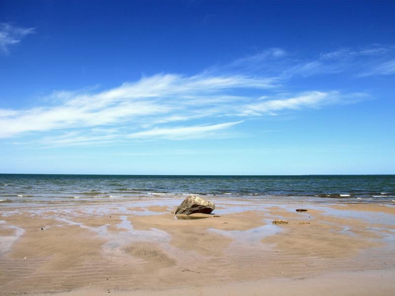 Breakwater Beach view