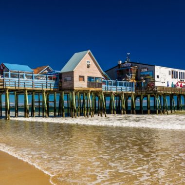 Old Orchard Beach, One of the Best Maine Beaches