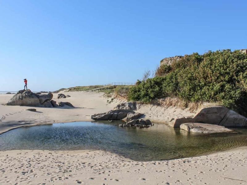 Praia Forte do Paço, Viana do Castelo