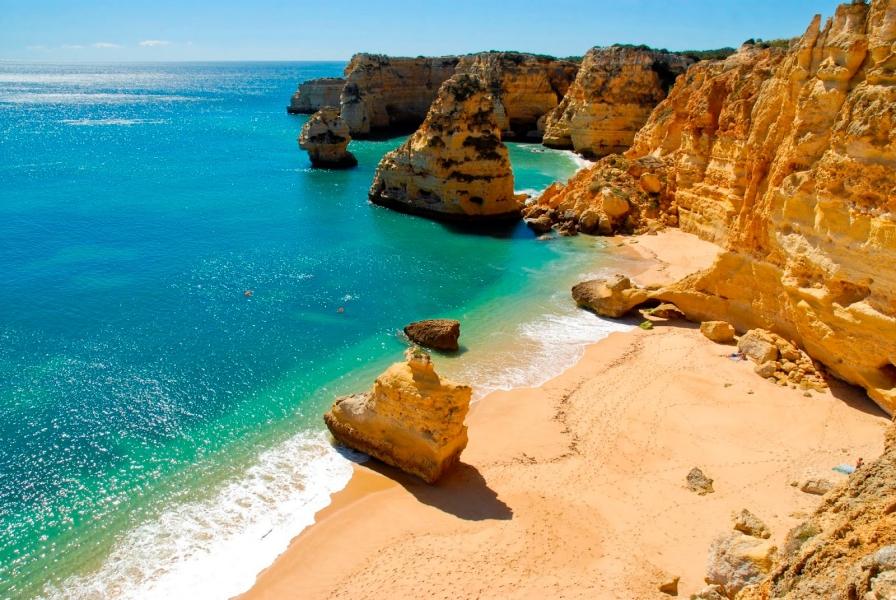 Praia da Marinha, Lagoa - Algarve Portugal
