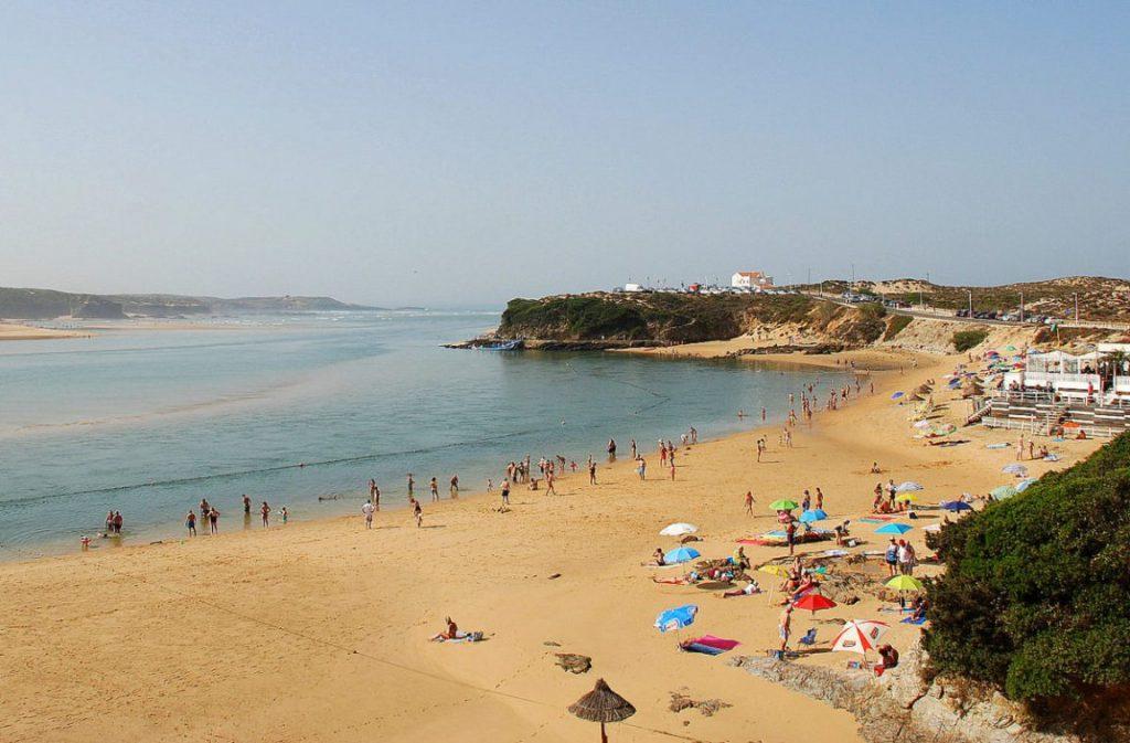 Praia da Franquia, Vila Nova de Mil Fontes, Costa Vicentina, Alentejo