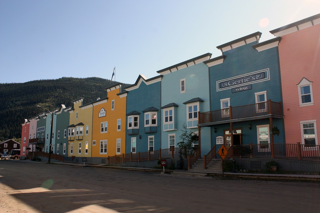 Dawson City is one of the best places to visit in Canada