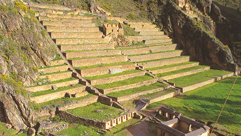 Archaeological Park Ollantaytambo