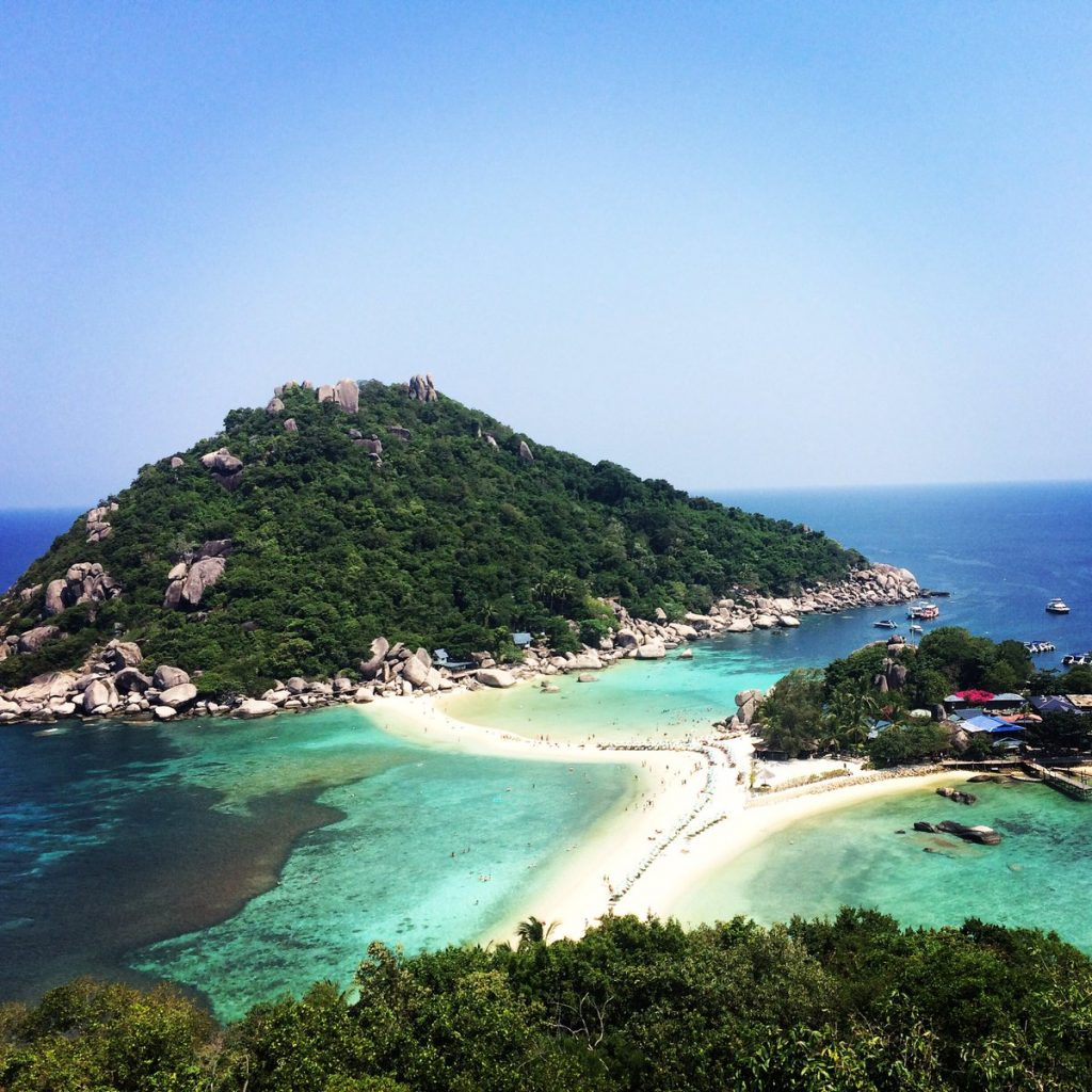 Snorkeling in Koh Tao is one of the best things to do in Thailand