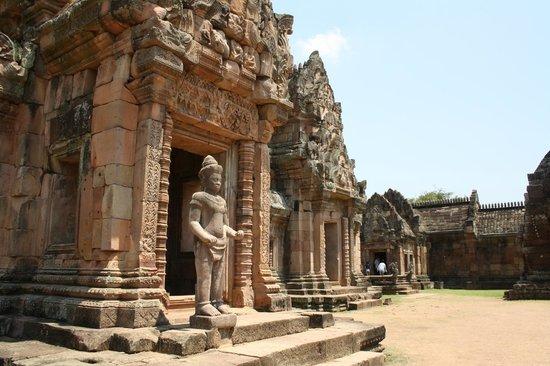 Temple view of Prasat Hin Phimai National Park