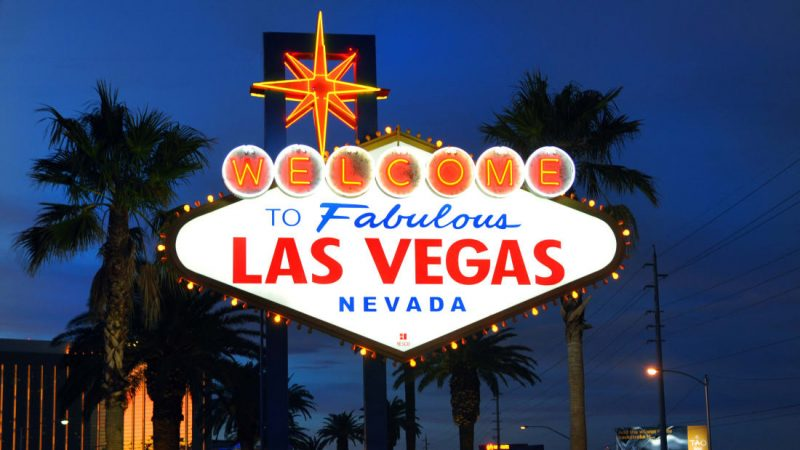 The infamous Welcome to Fabulous Las Vegas Nevada sign