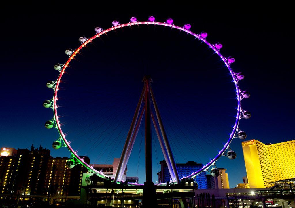 The High Roller Observation Wheel, Las Vegas