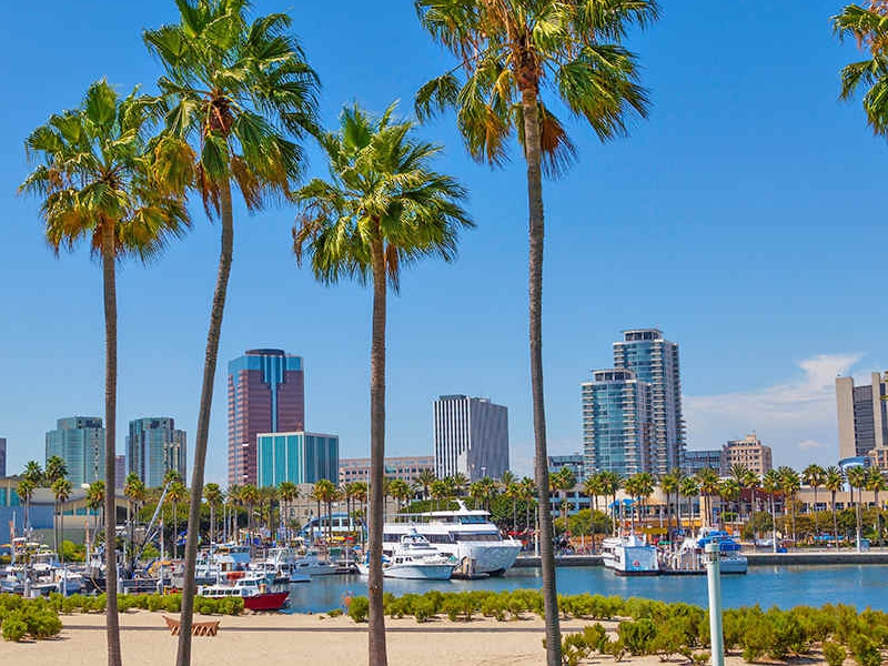 Long Beach, southern California