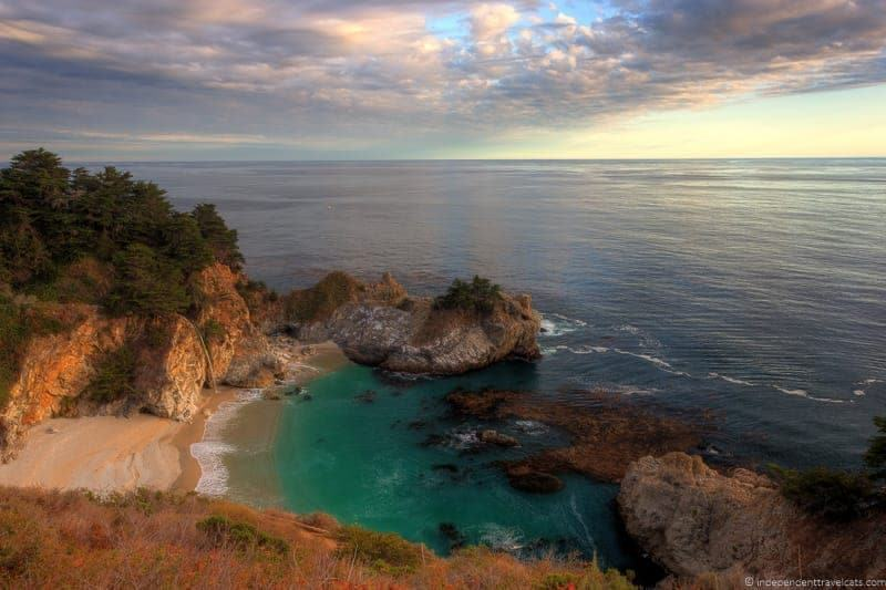 The natural beauty of Big Sur
