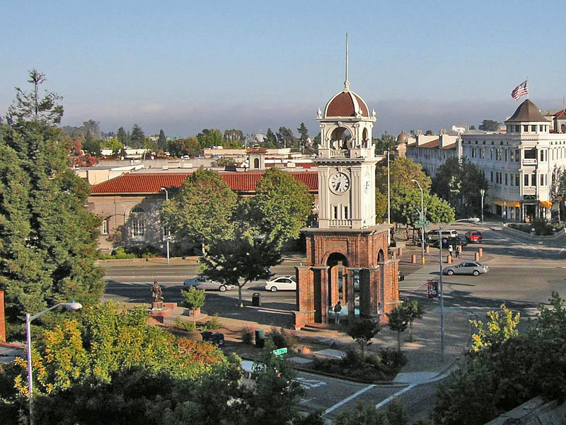 Santa Cruz clocktower