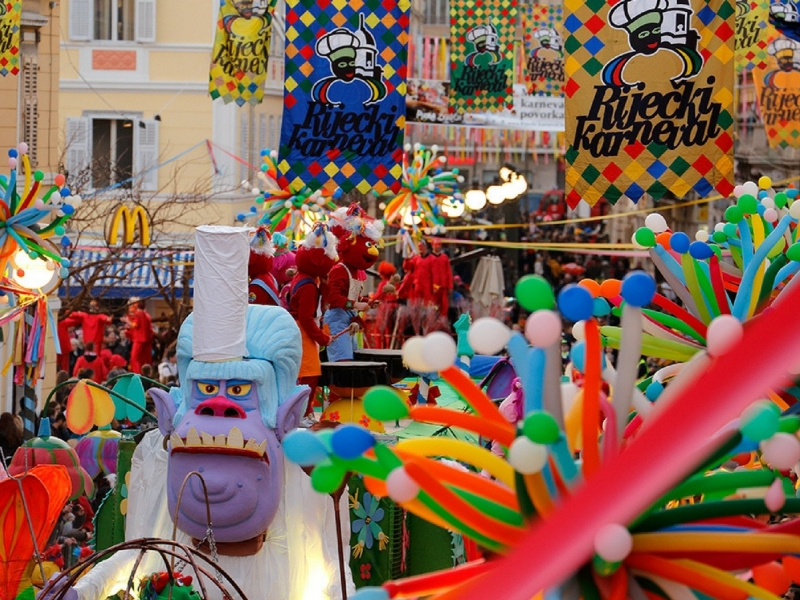 The Rijeka Carnival in February brought to the streets a lot of color and life and music