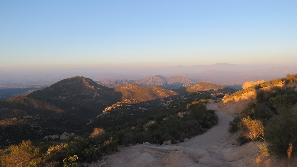 One of the hiking spots in San Diego, Iron Mountain