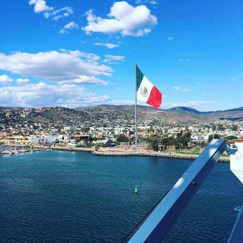 One of the best things to do in Ensenada - walk the Malecon