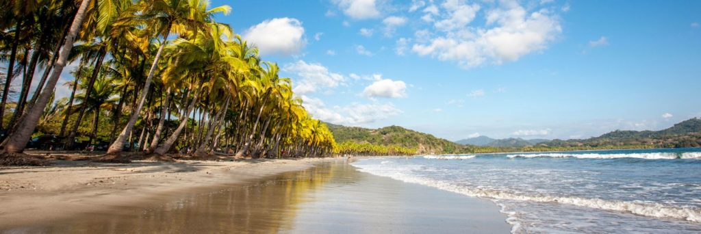 View of the Nicoya Peninsula in Costa Rica