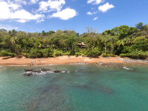 Sunny day at the Osa Peninsula in Costa Rica