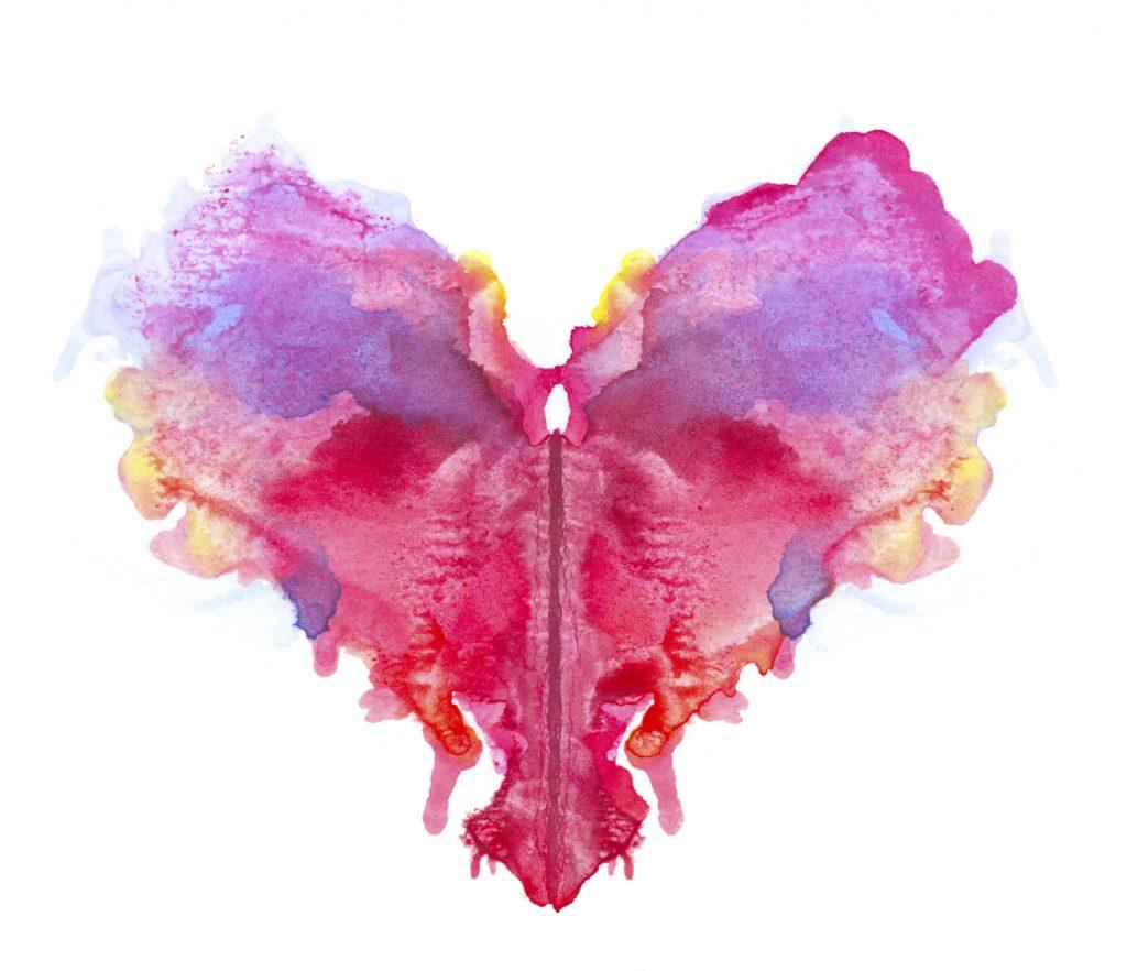 Rorschach heart